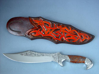 Museum Quality Blades and Knife Sculpture by Jay Fisher